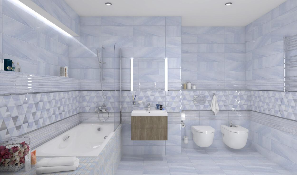 Плитка под оникс в интерьере ванной комнаты - блог Laparet